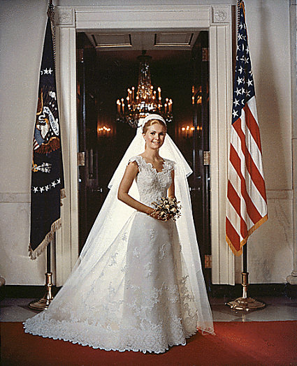 Wedding Dresses Of President'S Daughters 17