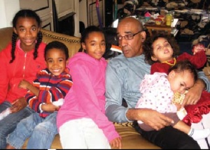 With five grand children: Billie Christine, William L. Taitt III, Arianna,Issa and Linh