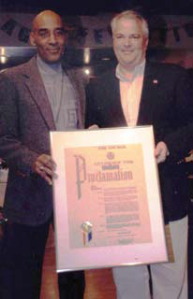 Proclamation from Councilman Michael McMahon on my 60th birthday