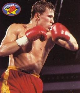 Sergei Arteries, the Russian professional boxer once considered to be one of the brightest stars of the 90-s.